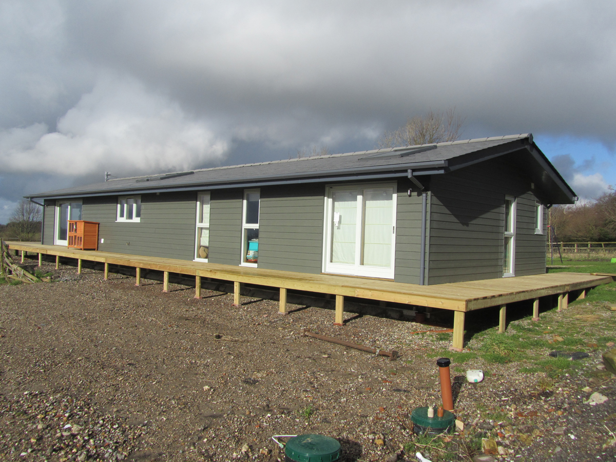 Log Cabin And Mobile Home Kits Twin Unit Mobile Homes